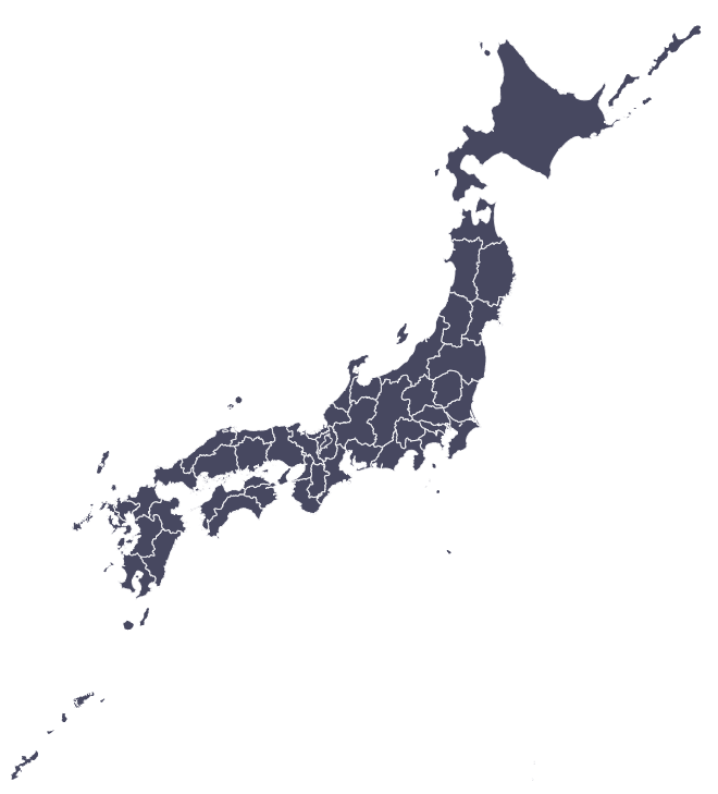 Map of Japan